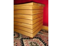'The Wave', chest in pine and red cedar 2